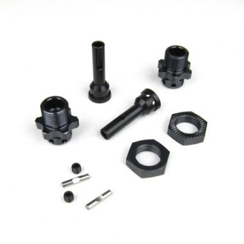 TKR5570-17 – 17mm Hub Adapter Set (SCT410, 1/8 buggy width, 2pcs)