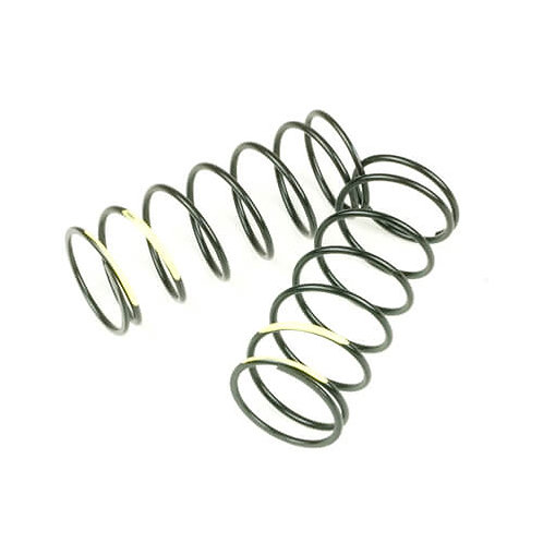 TKR7043 – Shock Spring Set (front, 1.4×7.375, 5.48lb/in, 50mm, yellow)