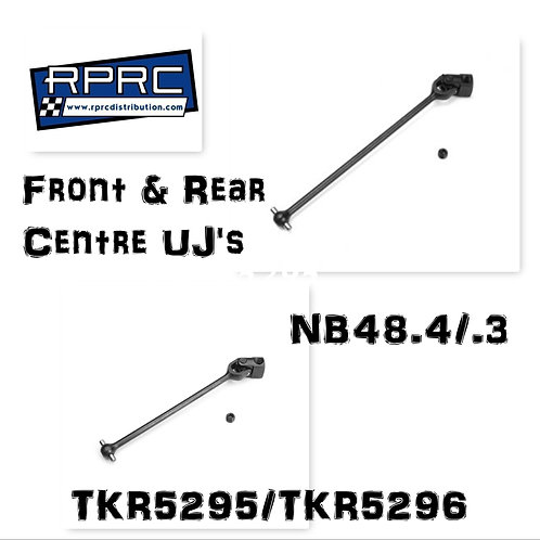 NB48.4/.3 Front and Rear Universal Driveshafts (Centre)