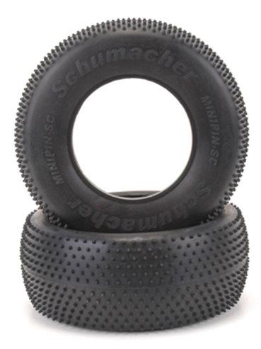 Short Course Tyre - Mini Pin - Yellow