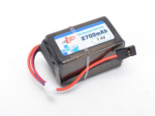 Intellect-Rx Lipo 2700mAh 1C-2S2P Hump