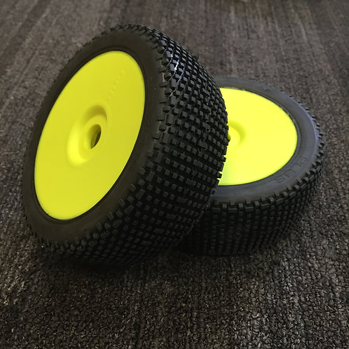 GRP - PLUS - Soft - Closed Cell Insert - Closed Yellow Wheel (Pair)