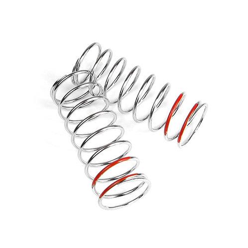 TKR6107 – LF Shock Spring Set (front, 1.6×8.5, 5.29lb/in, 57mm, red)