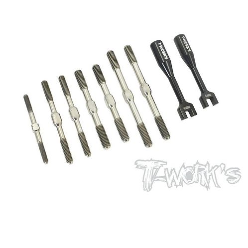 TB-190 64 Titanium Turnbuckle Set ( For TEKNO NB48 2.0 )