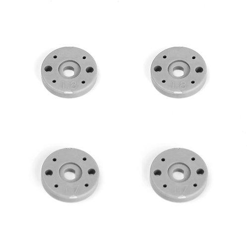 TKR6705 – Shock Piston Set (2×1.7, 2×1.8, flat/fla