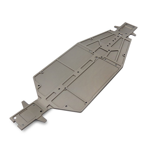 TKR6501 - Chassis (7075, 3mm, hard anodized, lightened, EB410)