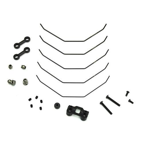 TKR6623 - Sway Bar Kit (complete front, 1.0, 1.1, 1.2, 1.3, 1.4mm, EB410)