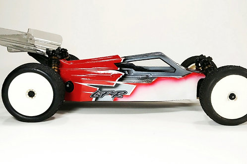 KYOSHO RB7 - LFR A2 TACTIC BODY WITH 2 WINGS (CLEAR)