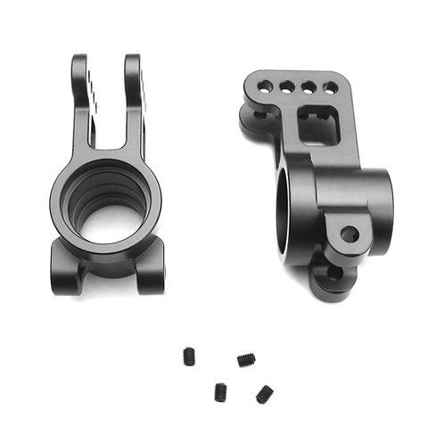 TKR5199A – Aluminum Rear Hubs gun metal ano