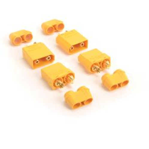 XT90 PLUG WITH FEMALE ONLY - 4PCS