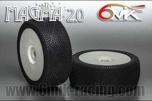 6Mik Magma 2.0 - GREEN - x 4 (one full car)