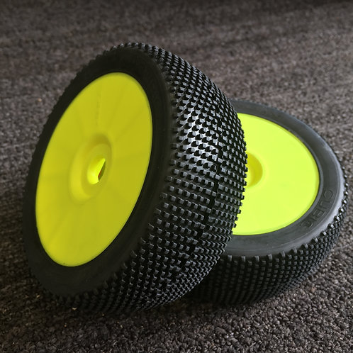 GRP - CUBIC - ExtraSoft - Closed Cell Insert - Closed Yellow Wheel (Pair)
