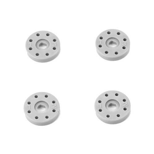 TKR6705B – Shock Piston Set (8×1.2, 8×1.3, flat/flat, 13mm, 4pcs)