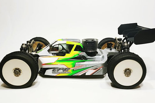 LOSI 8IGHTX - LFR A2.1 TACTIC BODY WITH SCOOP (CLEAR)