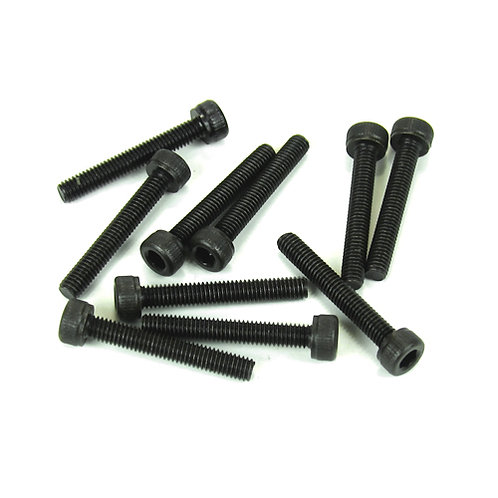 TKR1529 – 3x20mm Cap Head Screws (black, 10pcs)