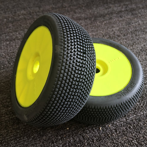 GRP - SONIC - Soft - Closed Cell Insert - Closed Yellow Wheel (Pair)