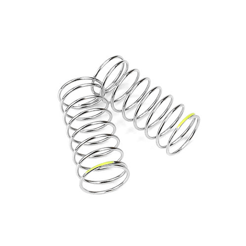 TKR6785 - Shock Spring Set (front, 1.3x8.5, 3.41lb/in, 45mm, yellow)