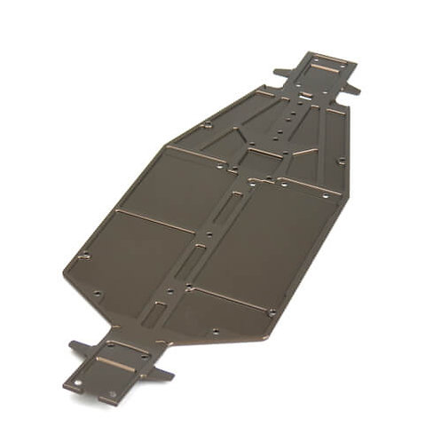 TKR6501B – Chassis (revised, 7075, 3mm, hard anodized, lightened, ET410 EB410)