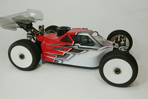KYOSHO MP9 and MP10 - LFR A2 TACTIC BODY (CLEAR )