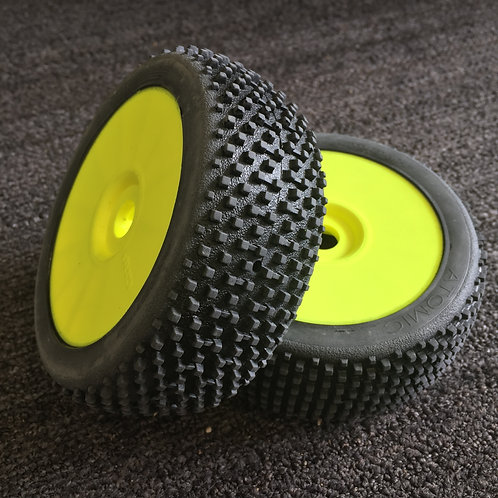 GRP - ATOMIC - ExtraSoft - Closed Cell Insert - Closed Yellow Wheel (Pair