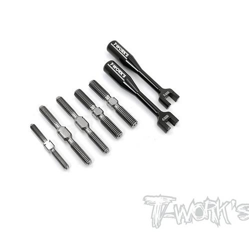 Titanium Turnbuckle Set ( For SWORKZ S35-4 )