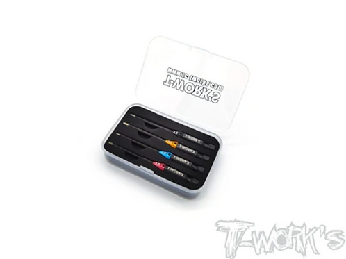 TT-079 T-WORK'S POWER TOOL HEX TIPS SET(1.5, 2.0, 2.5, 3MM) TT-079