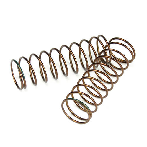 TKR7244 – Shock Spring Set (rear, 1.3×10.5, 2.61lb/in, 63mm, green)