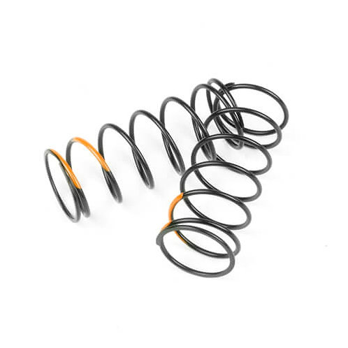 TKR7044 – Shock Spring Set (front, 1.4×7.125, 5.75lb/in, 50mm, orange)