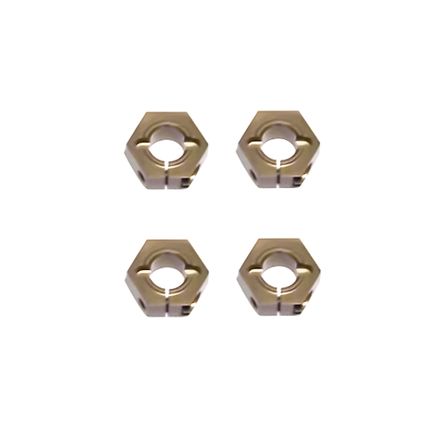 TKR1654X – +1 Aluminum Hex (12mm) 4pcs