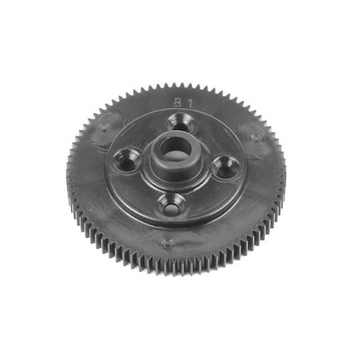 TKR6522B – Spur Gear (revised material, 81t, 48pitch, black, EB410.2)