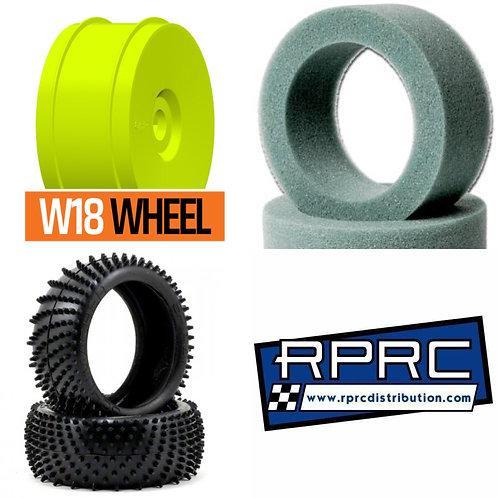 Silver Spirals / GRP Wheels / Schumacher Foam