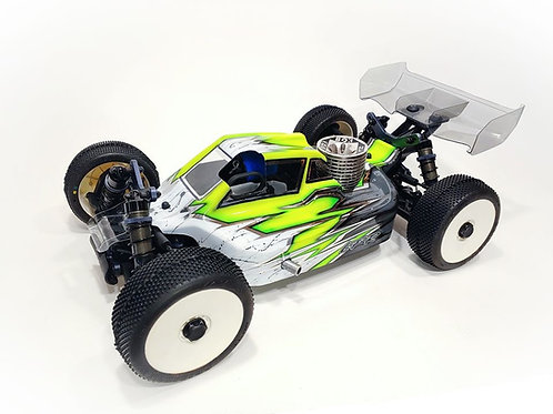 TEKNO NB48 2.0 - LFR A2.1 TACTIC BODY WITH NOSE SCOOP (CLEAR)