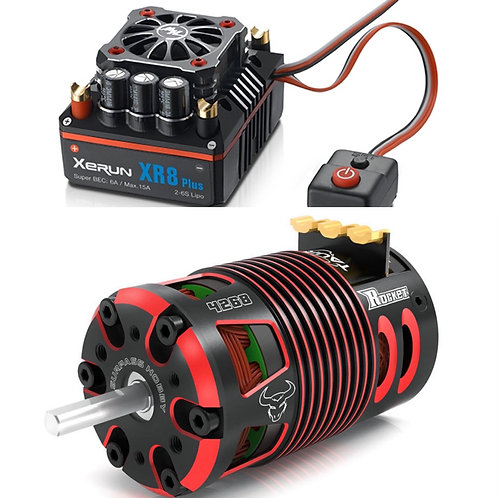 Hobbywing XR8 Plus and Surpass 2000kv Combo