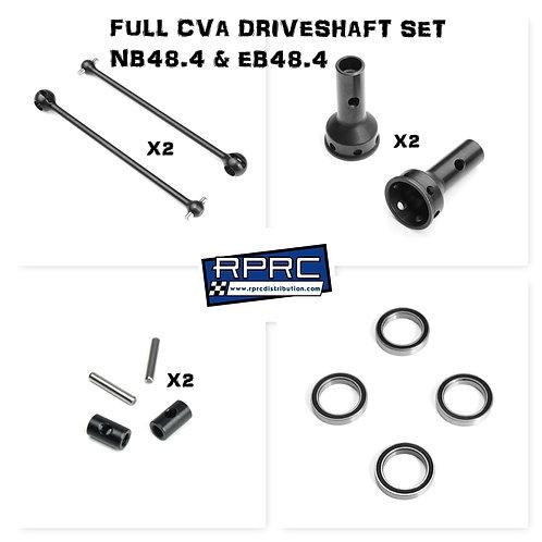 CVA Driveshaft Set for NB48.4 & EB48.4