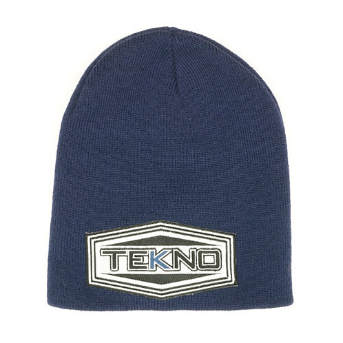 """Tekno RC """"Patch"""" Beanie (navy blue, one size fits all)"""