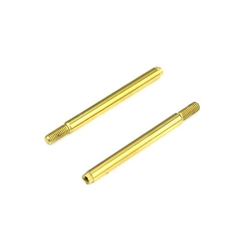 TKR6703T - Shock Shafts (front, steel, TiNi coated, EB410, 2pcs)