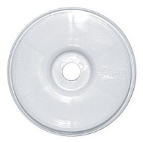 Wheel 1/8th - White Dish v2 - pk4