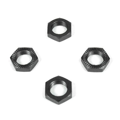 TKR5116 – Wheel Nuts (17mm, serrated, gun metal an