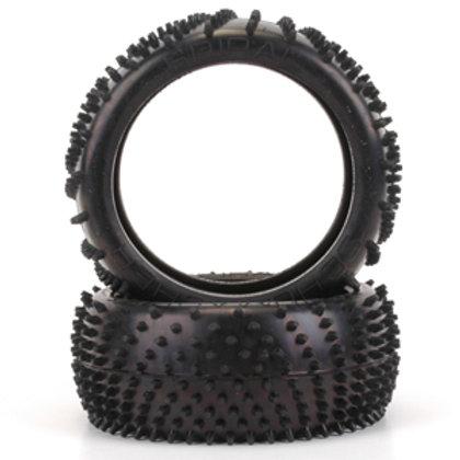 Schumacher Silver Spiral 1-8th Tyre - (pr)