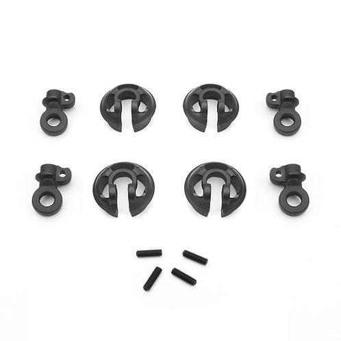 TKR6701 - Locking Shock Rod End and Spring Perch Set (13mm shocks)