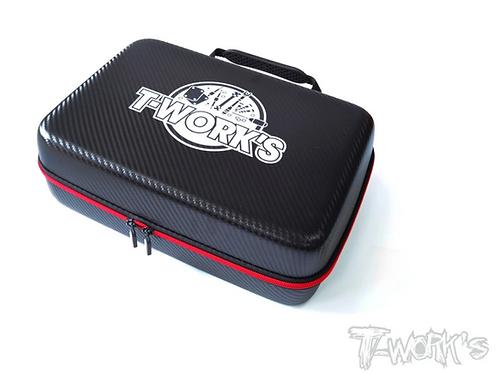 T-Works TT-075-C Compact Hard Case Parts Bag ( L ) 33*23*10cm
