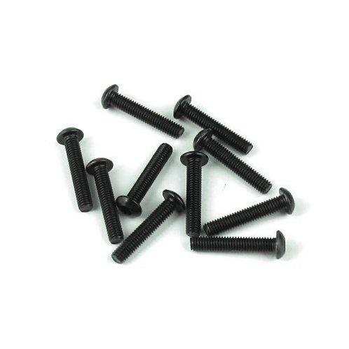TKR1407 – M3x16mm Button Head Screws (black, 10pcs)