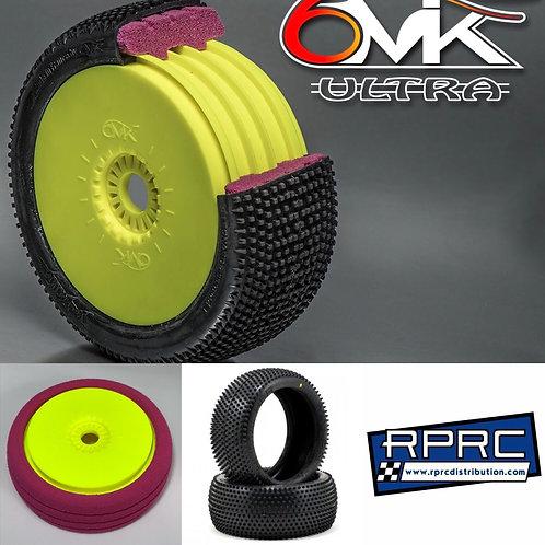 Combo - 6mik Ultra Wheel (YELLOW) Ultra Insert (RED) Schumacher Minipin (Y) (4)