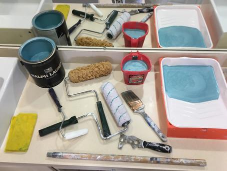 Steve's Painting Process