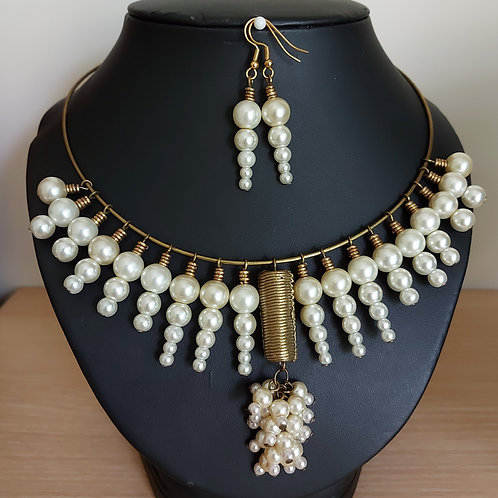 Ray of Pearls Set
