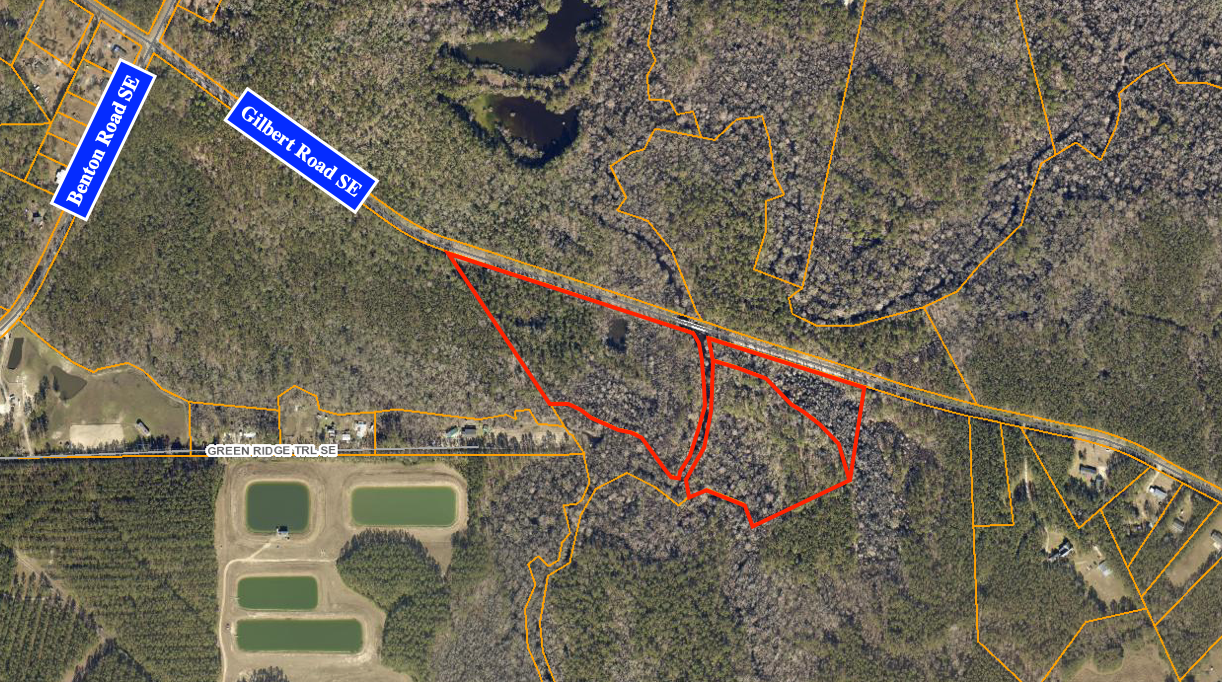McKoy Salmon Tract - Highlighted GIS