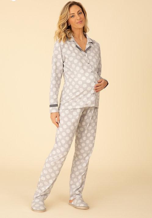 Pijama Aberto Gola - 20039