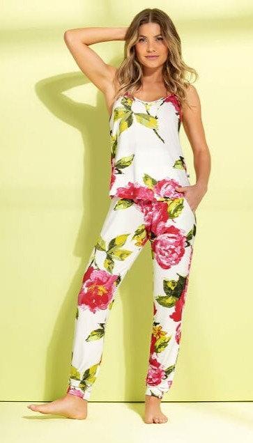 Pijama Jogger com Camiseta - 9849