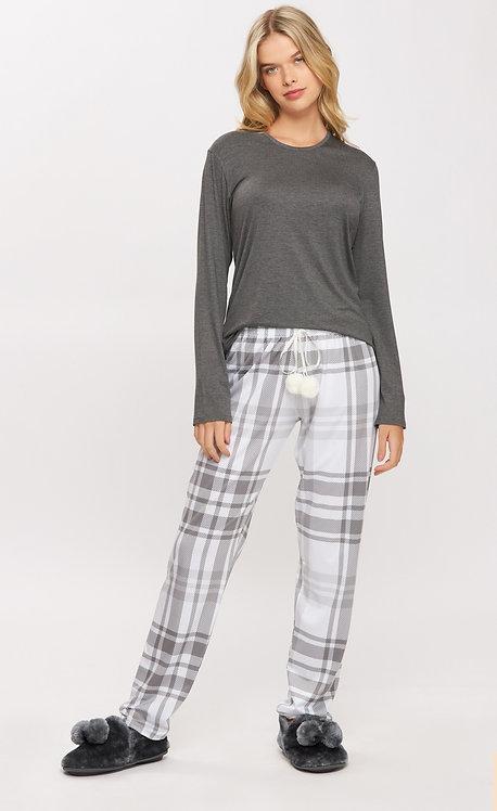 Pijama Calça Xadrez - 14531