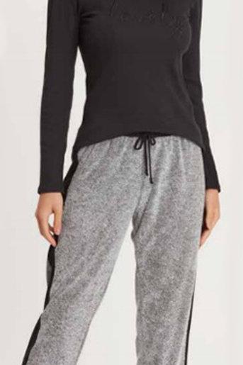 Pijama Longo de topázio Bionature Plush mescla - 13678